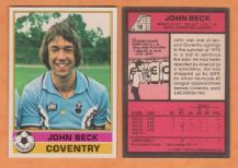 Coventry City John Beck 18